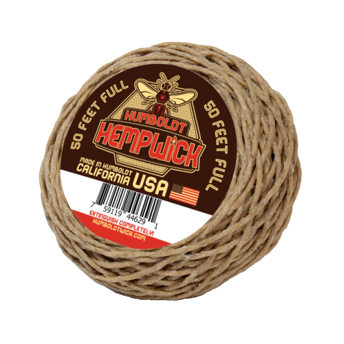 Humboldt Hemp Wick® 50 Feet Full